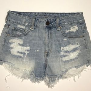 American Eagle High Waisted Shorts